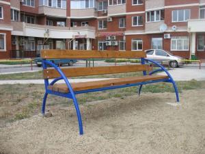 Изготовление уличных скамеек