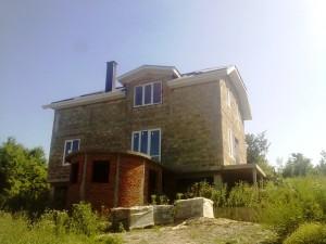 Новый жилой дом на Черноморском побережье.